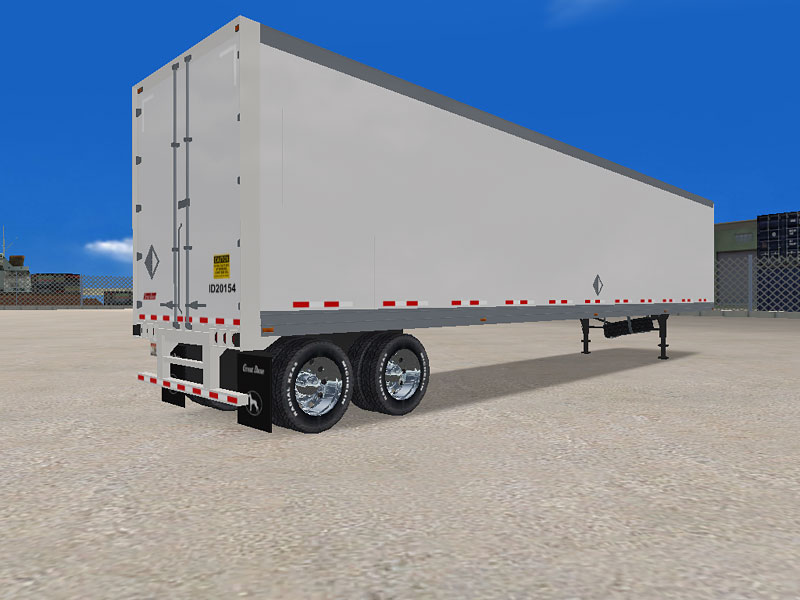 » Drop Frame Van Trailers Used Drop Frame Van Trailers Drop Frame