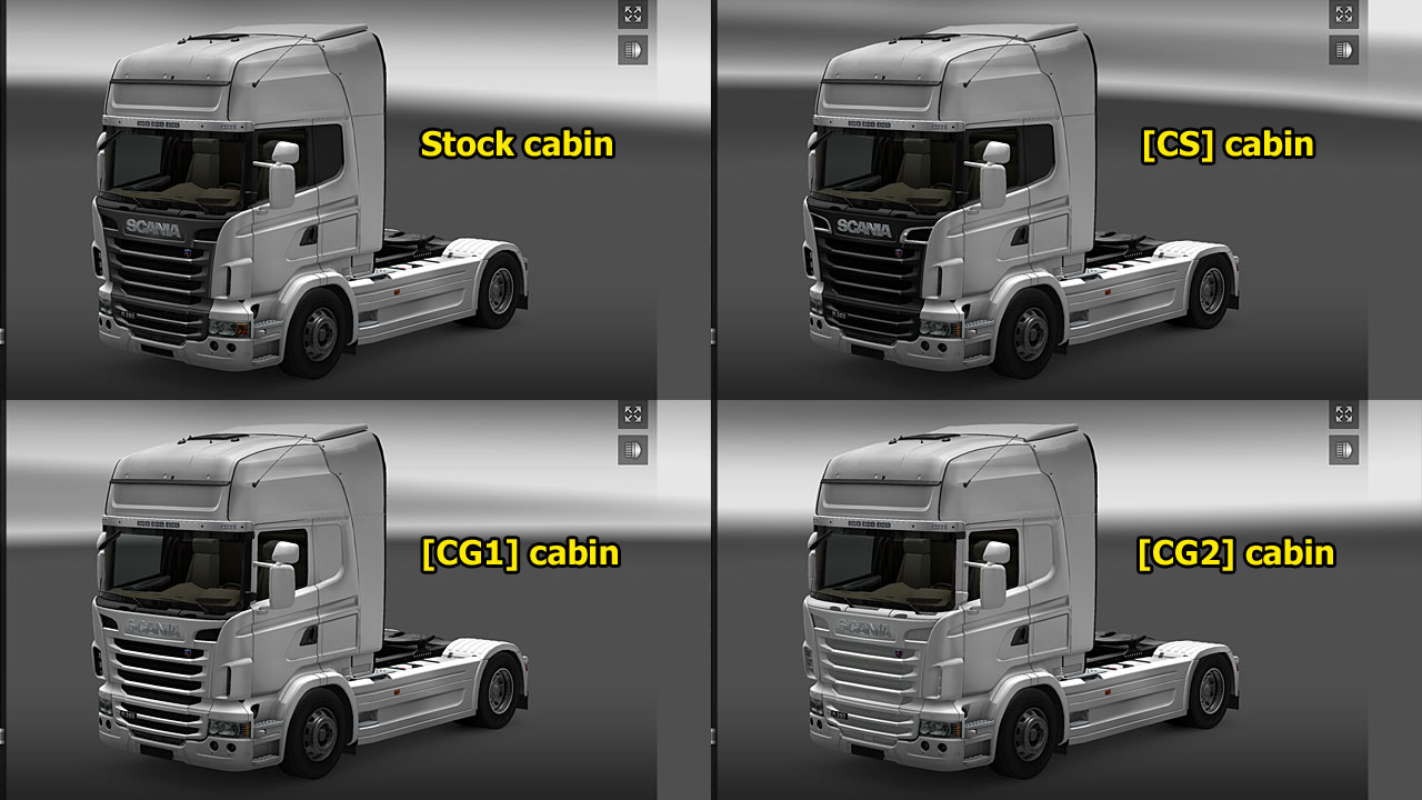 18輪皮置き場 Euro Truck Simulator 2 Trucks Modified
